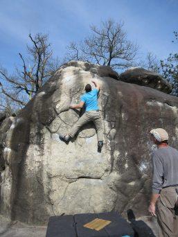 tom climbing