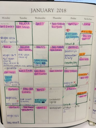 Calendar - JAN